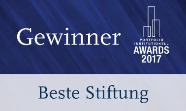 Beste Stiftung Gewinner 2017